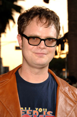 Premiere: Rainn Wilson at the Hollywood premiere of Universal Pictures' The 40-Year-Old Virgin - 8/11/2005