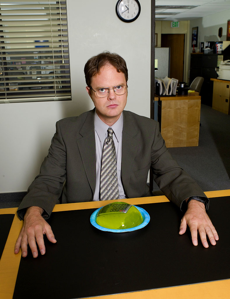 2007 Emmy Awards: Rainn Wilson nominated for Best Supporting Actor (Comedy) for his role as Dwight Schrute in The Office.