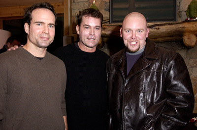 Jason Patric, Ray Liotta and Joe Carnahan Narc Premiere Sundance Film Festival 1/12/2002