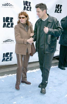 Premiere: Susan Sarandon and Ray Romano at the Radio City Music Hall premiere of Ice Age - 3/10/2002