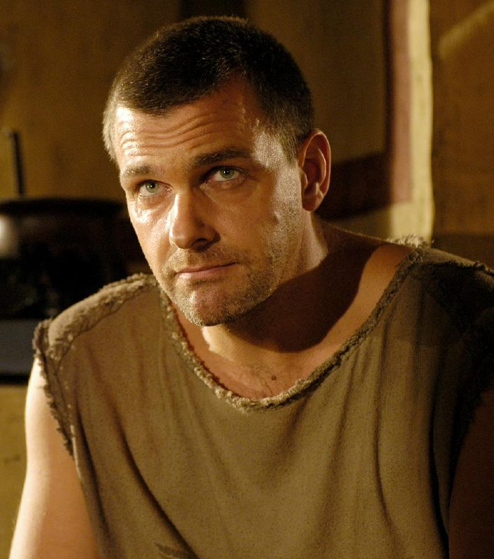 Ray Stevenson  plays Titus Pullo in Rome on HBO.