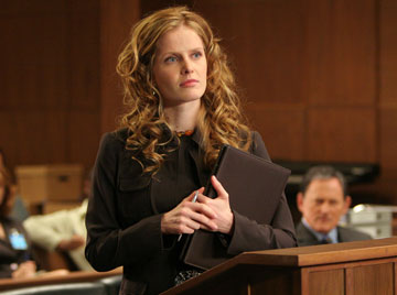 "Rebecca Mader as Alden Tuller FOX's ""Justice"""