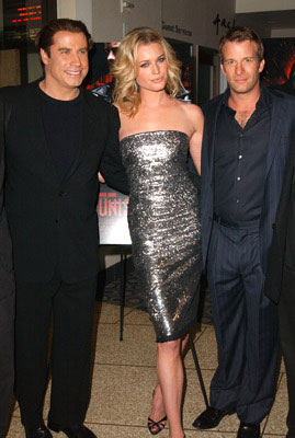 Premiere: John Travolta, Rebecca Romijn-Stamos and Thomas Jane at the L.A. premiere of Artisan's The Punisher - 4/12/2004