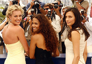 "Rebecca Romijn, Halle Berry and Famke Janssen ""X-Men: The Last Stand"" Photocall - 5/22/2006 2006 Cannes Film Festival"