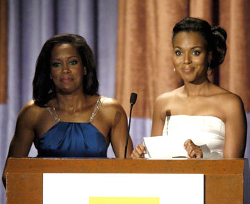Regina King and Kerry Washington 2004 Hollywood Film Awards Presentation Bevery Hills, CA - 10/18/2004