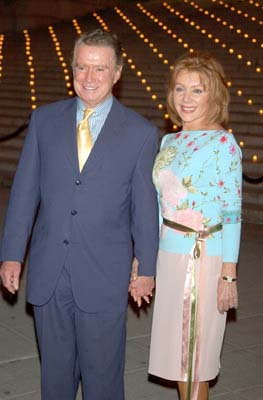 Regis Philbin and wife Joyce Tribeca Film Festival, 5/1/2003