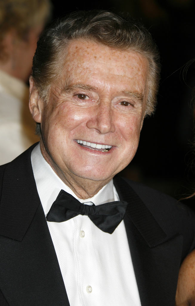Regis Philbin at the 2007 Vanity Fair Oscar Party Hosted by Graydon Carter in West Hollywood, California on February 25, 2007.