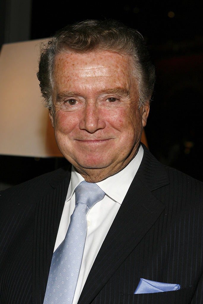 Regis Philbin at the Tribute to Ernie Barnes: His Art and Inspiration at the Time Warner Center on October 23, 2007 in New York.
