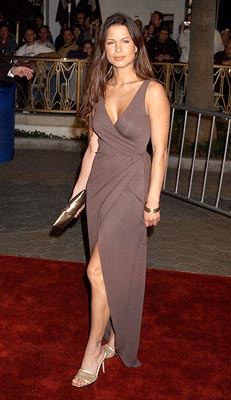 Premiere: Rhona Mitra at the LA screening of Universal's The Life of David Gale - 2/28/2003