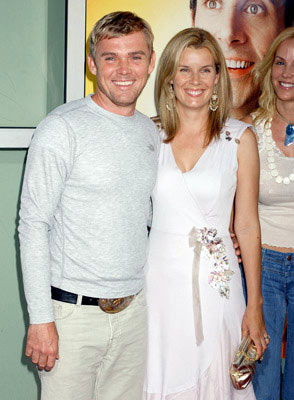 Premiere: Rick Schroder and wife at the Hollywood premiere of Universal Pictures' The 40-Year-Old Virgin - 8/11/2005
