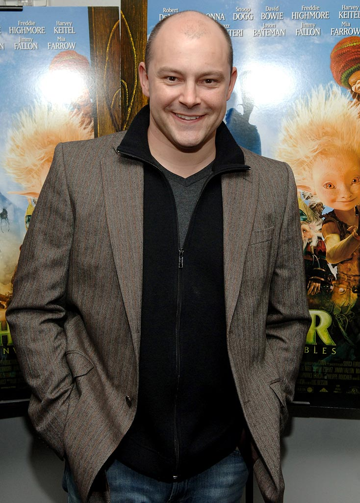 "Rob Corddry at the ""Arthur and the Invisibles"" New York City Premiere."