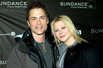 Rob Lowe and Sheryl Berkoff-Lowe Thank You for Smoking Premiere - 1/21/2006 2006 Sundance Film Festival