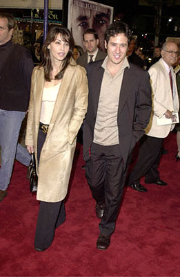 Premiere: Gina Gershon and Rob Morrow at the Westwood premiere of 20th Century Fox's Cast Away - 12/7/2000