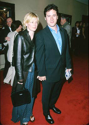 Premiere: Rob Morrow and gal at the Westwood premiere of Fox Searchlight's A Midsummer Night's Dream - 4/26/1999
