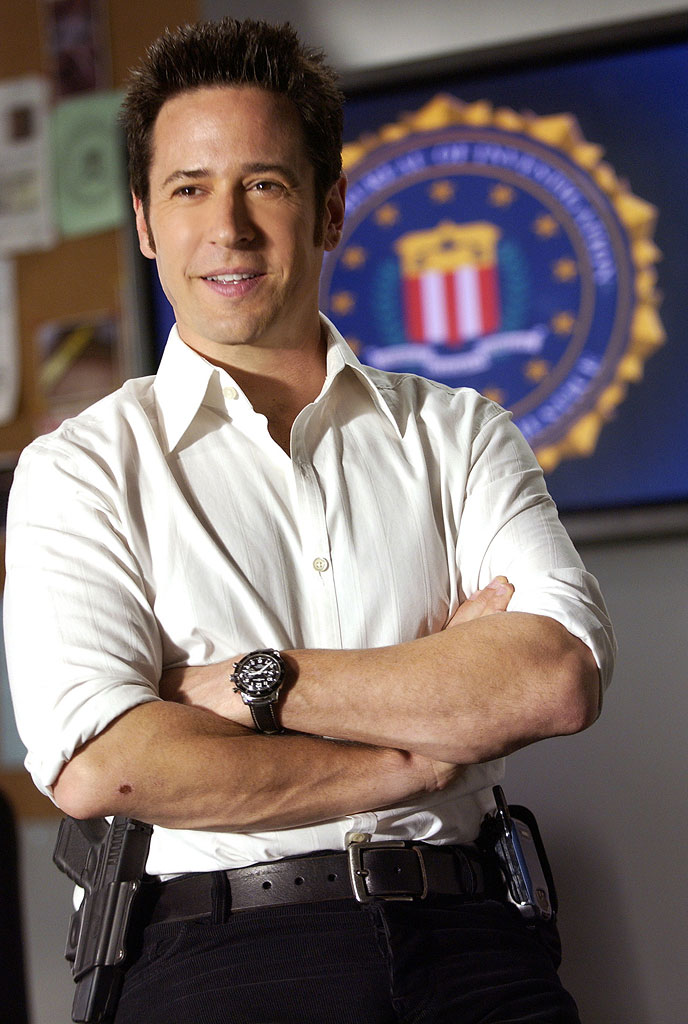 Rob Morrow stars as Don Epps in Numb3rs on CBS.