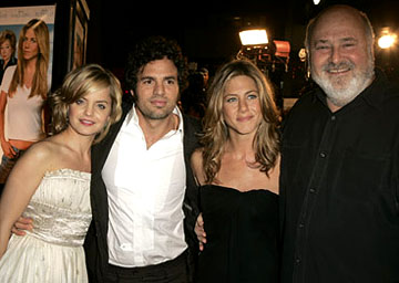 Premiere: Mena Suvari, Mark Ruffalo, Jennifer Aniston and Rob Reiner at the LA premiere of Warner Bros.' Rumor Has It... - 12/15/2005