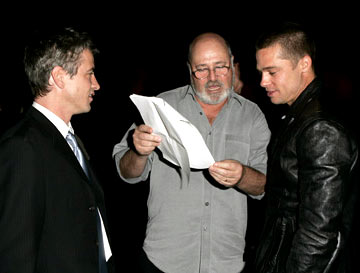 Premiere: Dermot Mulroney, Rob Reiner and Brad Pitt at the Los Angeles special screening of ThinkFilm's Going Upriver: The Long War of John Kerry - 10/13/04