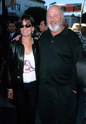Premiere: Rob Reiner and his wife at the Egyptian Theatre re-release of This Is Spinal Tap - 9/5/2000