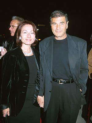 Premiere: Robert Forster and gal at the Beverly Hills premiere of Sony Pictures Classics' Sweet and Lowdown - 12/2/1999