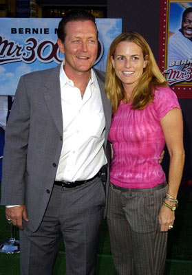 Premiere: Robert Patrick with wife Barbara at the Hollywood premiere of Touchstone Pictures' Mr. 3000 - 9/8/2004