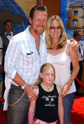 Premiere: Robert Patrick and family at the Hollywood premiere of Walt Disney's Around the World in 80 Days - 6/13/2004
