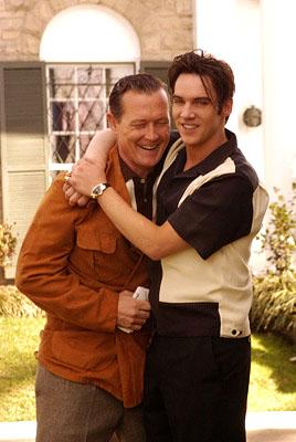 "Vernon (Robert Patrick) and his son Elvis (Jonathan Rhys-Meyers) ""Elvis"" - 2005"