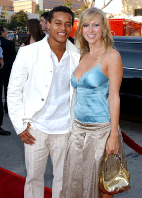 Premiere: Robert Ri'chard with Tiffany Michael at the Westwood premiere of Warner Bros. Pictures' House of Wax - 4/26/2005