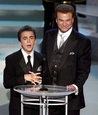 Frankie Muniz and Robert Wuhl Emmy Awards - 9/22/2002