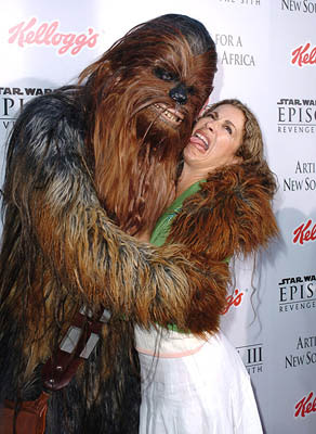 Premiere: Roma Maffia at the LA premiere of 20th Century Fox's Star Wars: Episode III - Revenge of the Sith - 5/12/2005
