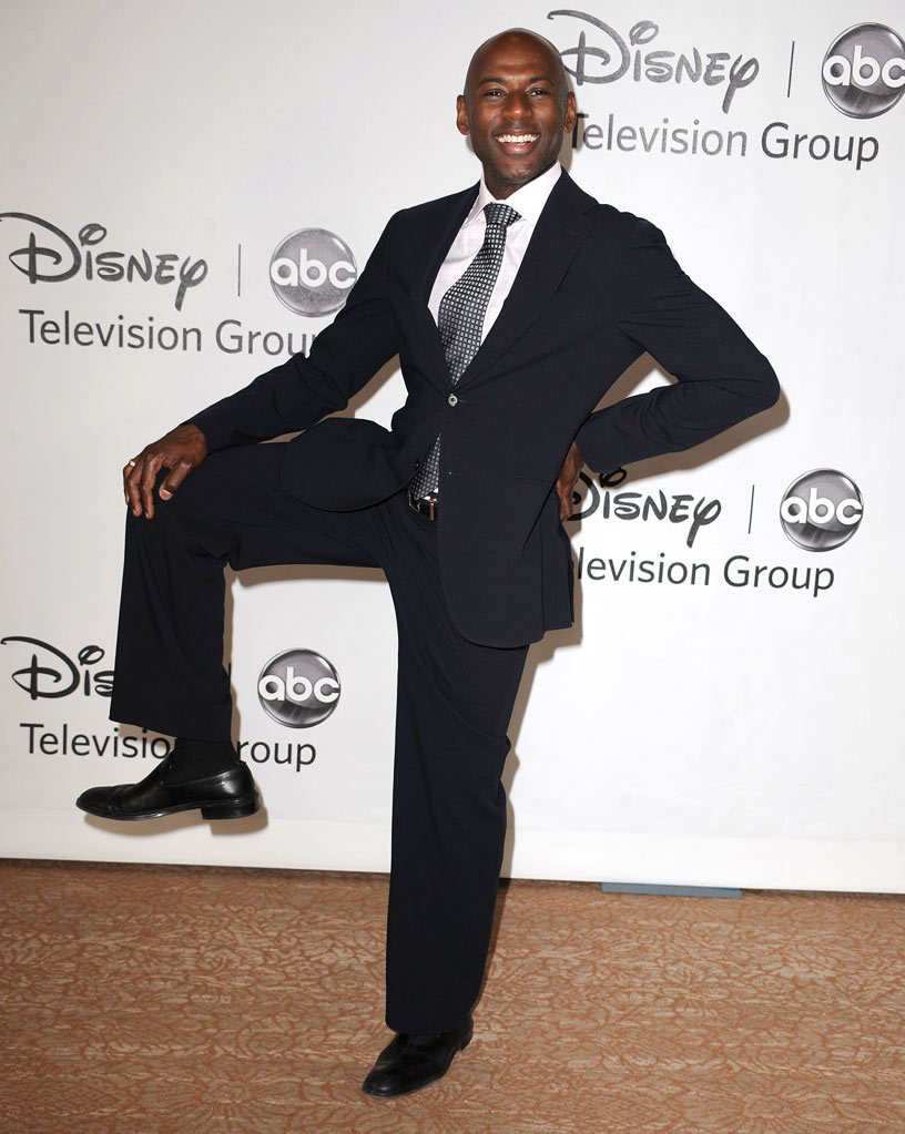 """No Ordinary Family's"" Romany Malco arrives at the Disney/ABC Television 2010 TCA Summer Press Tour on August 1, 2010 in Beverly Hills, California."