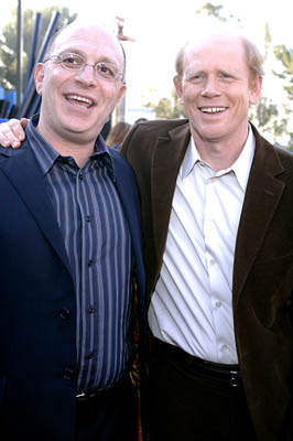 Premiere: Akiva Goldsman and Ron Howard at the LA premiere of Universal's Cinderella Man - 5/23/2005