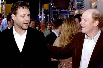 Premiere: Russell Crowe and Ron Howard at the LA premiere of Universal's Cinderella Man - 5/23/2005