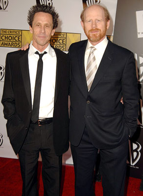 Brian Grazer and Ron Howard 11th Annual Critics' Choice Awards Santa Monica, CA - 1/9/2006