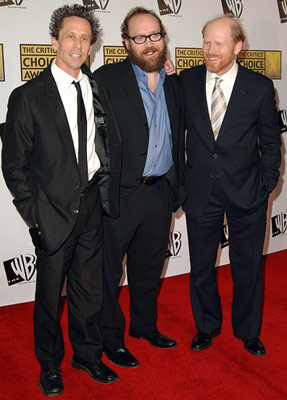 Brian Grazer, Paul Giamatti and Ron Howard 11th Annual Critics' Choice Awards Santa Monica, CA - 1/9/2006