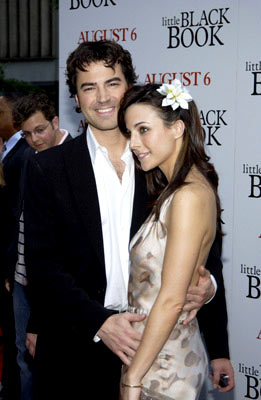 Premiere: Ron Livingston and Lisa Sheridan at the New York premiere of Revolution Studio's Little Black Book - 7/21/2004