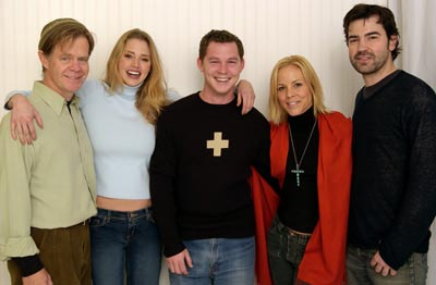 William H. Macy, Estella Warren, Shawn Hatosy, Maria Bello and Ron Livingston The Cooler Sundance Film Festival 1/18/2003