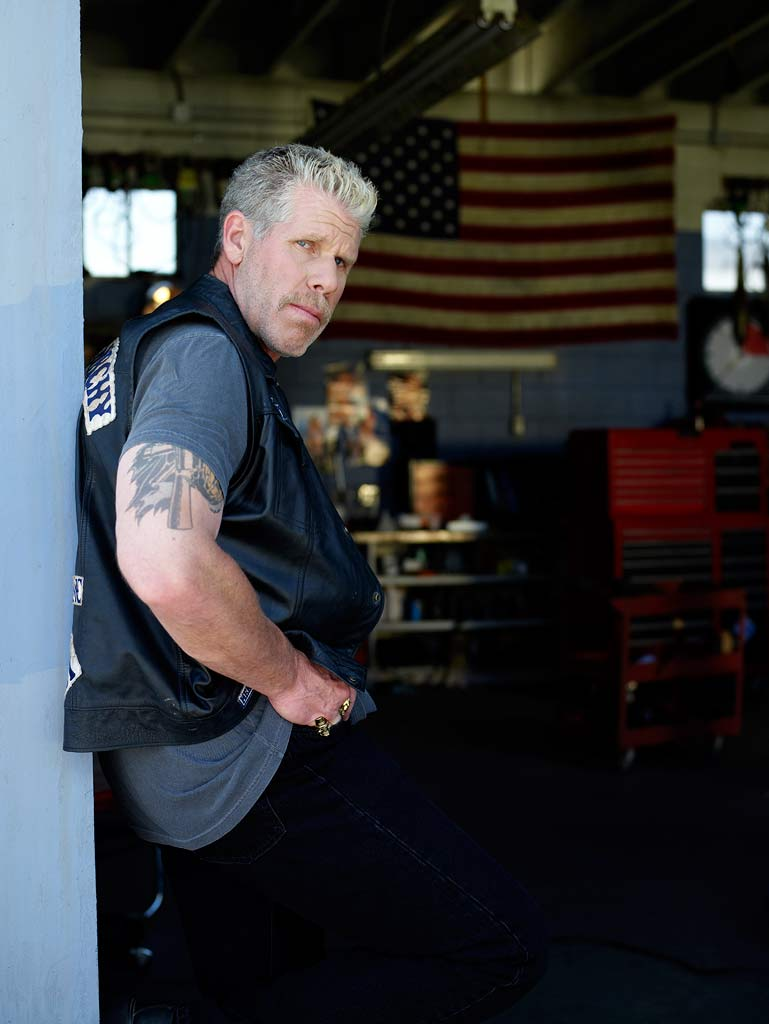 "Ron Perlman as Clarence ""Clay"" Morrow in Sons of Anarchy."