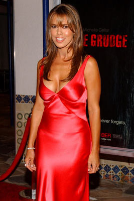 Premiere: Rosa Blasi at the Los Angeles premiere of Columbia Pictures' The Grudge - 10/12/04