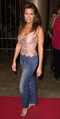 Premiere: Rosa Blasi at the Los Angeles premiere of Warner Brothers' The Pledge - 1/09/2001