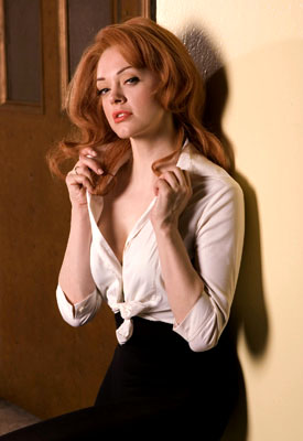 "Rose McGowan as Ann-Margret ""Elvis"" - 2005"