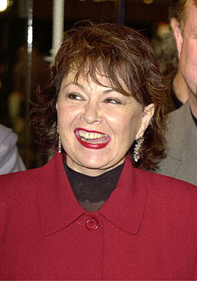 Premiere: Roseanne at the Westwood premiere of 20th Century Fox's Cast Away - 12/7/2000
