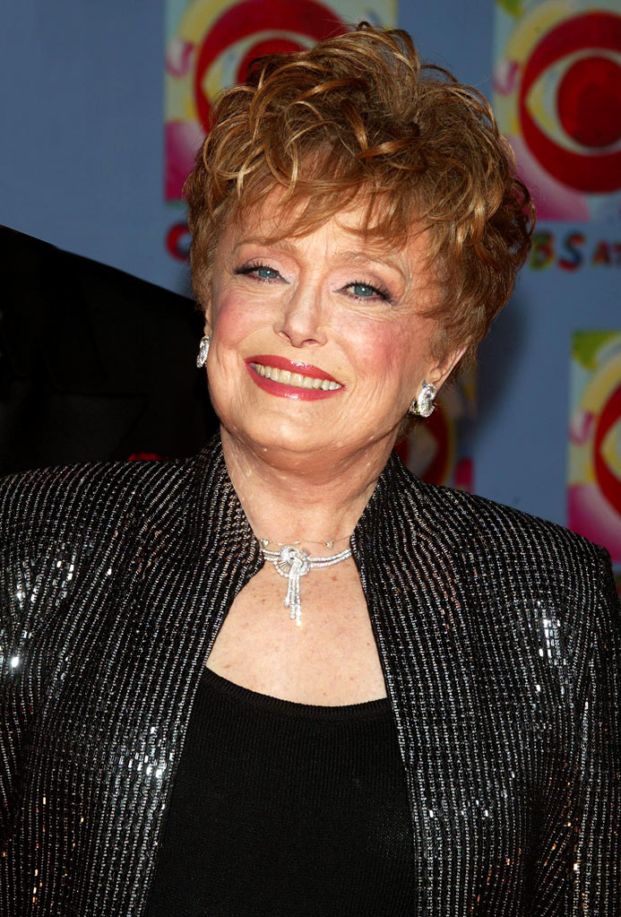 Rue McClanahan arrives at CBS at 75 in New York City, New York on November 2, 2003.