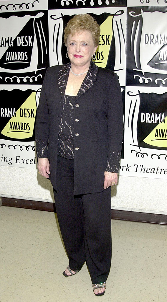 Rue McClanahan at the 47th Annual Drama Desk Awards in New York City, New York on May 19, 2002.