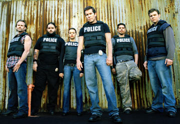 Lee Tergesen, Josey Scott, Rashida Jones, Gary Cole, Benjamin Benitez and Ryan Hurst TNT's 'Wanted'