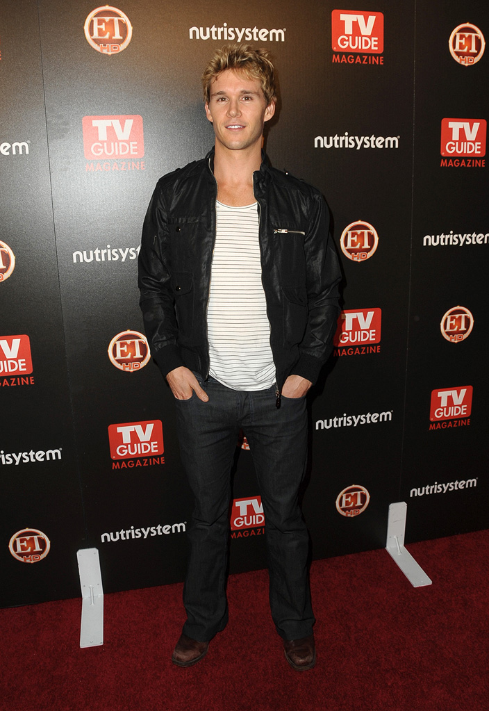 Ryan Kwanten arrives at TV Guide's Sexiest Stars 2009 at the Sunset Towers Hotel on March 24, 2009 in Los Angeles, California.