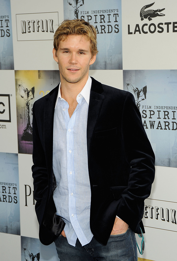 Ryan Kwanten attends the Lacoste Lounge at Film Independent's 2009 Independent Spirit Awards held at the Santa Monica Pier on February 21, 2009 in Santa Monica, California.