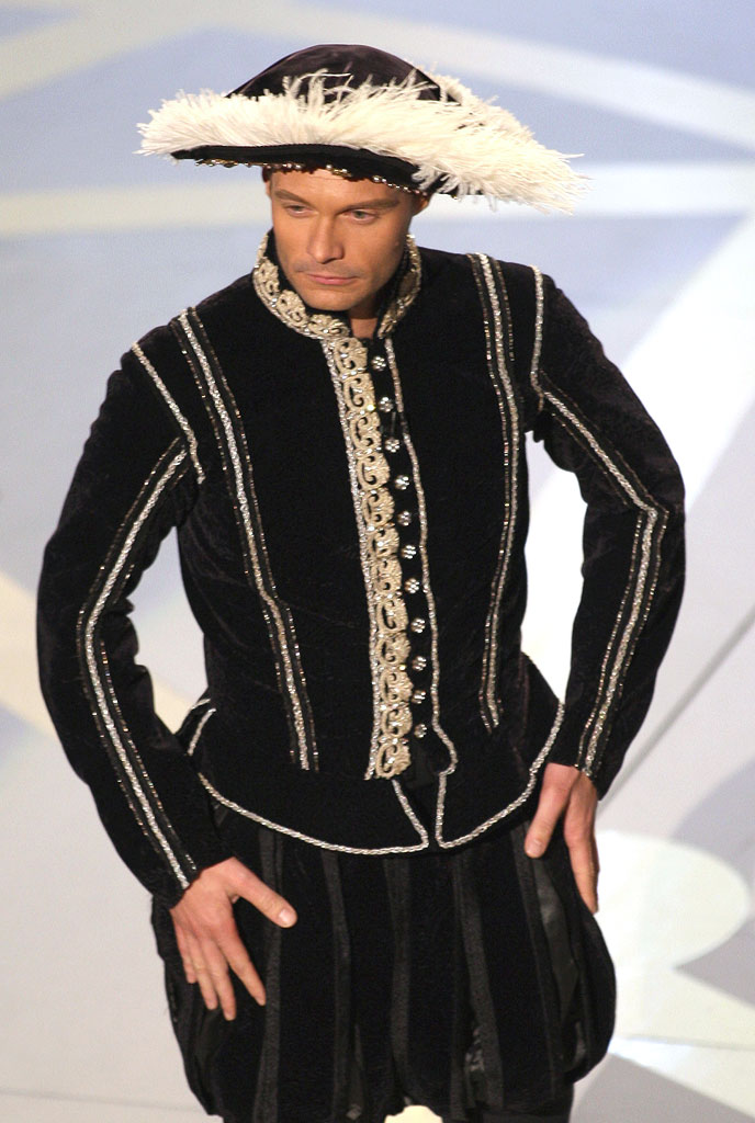 Ryan Seacrest during the 59th Annual Primetime Emmy Awards at the Shrine Auditorium on September 16, 2007 in Los Angeles, California.