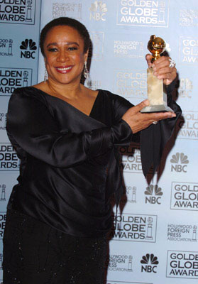 "S. Epatha Merkerson Best Actress in a Mini-Series or Made-For-TV Movie - ""Lackawanna Blues"" 63rd Annual Golden Globe Awards - Press Room Beverly Hills, CA - 1/16/06"