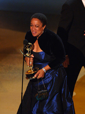 "S. Epatha Merkerson Outstanding Lead Actress in a Miniseries or Movie ""Lackawanna Blues"" Emmy Awards - 9/18/2005"