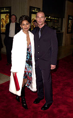 Premiere: Salli Richardson and Matthew McConaughey at the Century City premiere of Columbia's The Wedding Planner Salli Richardson-Whitfield